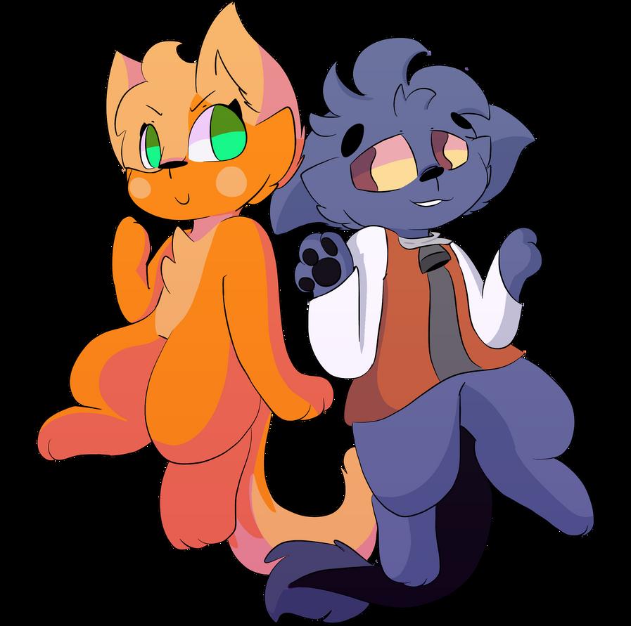 Me and Darkie Night by Kittencloudy4u