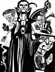 Batman and the Rogues by Scuter