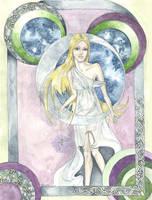 Goddess Diana by Merrick2682