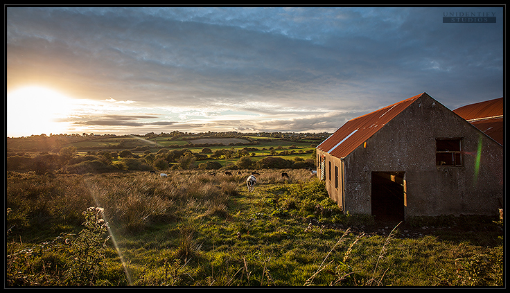Irland Sunset by UnidentifyStudios