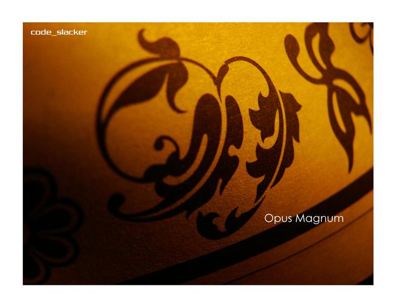 H5 - Opus Magnum by codeslacker