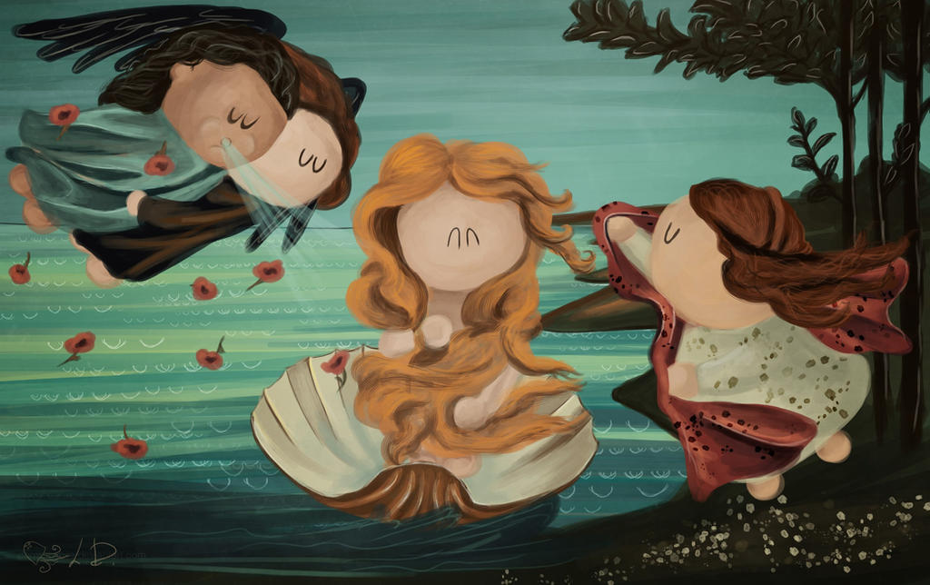 The Birth of Venus by DominaWhite