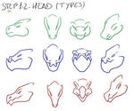 Tutorial 1.2: dragon heads (basics)