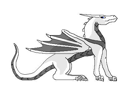 Dragon Template Alone - Female by StarrySunlight on DeviantArt