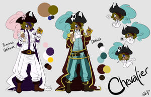 OC: Chevalier by ccucco