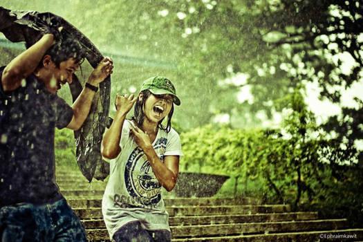 Rain Pours. Love pours.