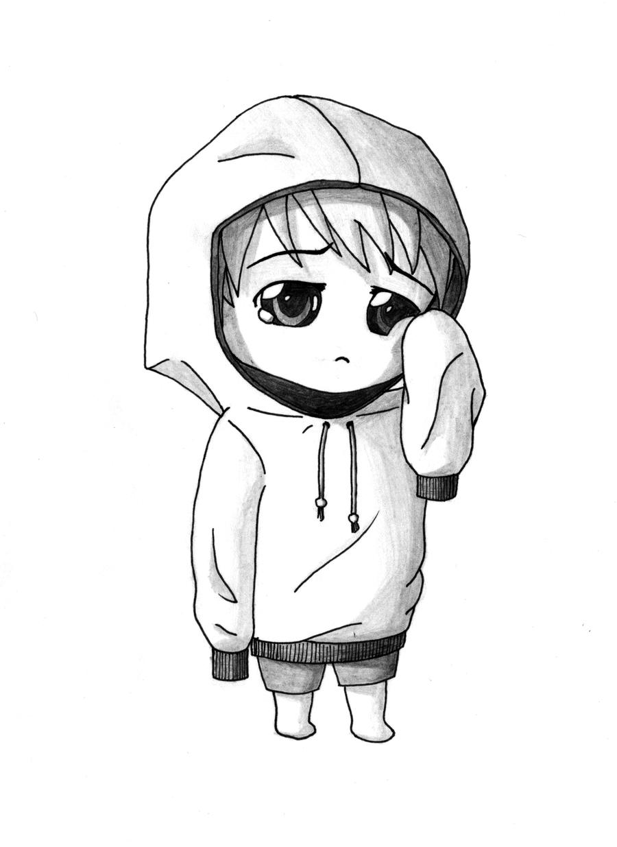 Sad Chibi by gene24manga on DeviantArt