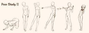 Pose Study 01 - female adult