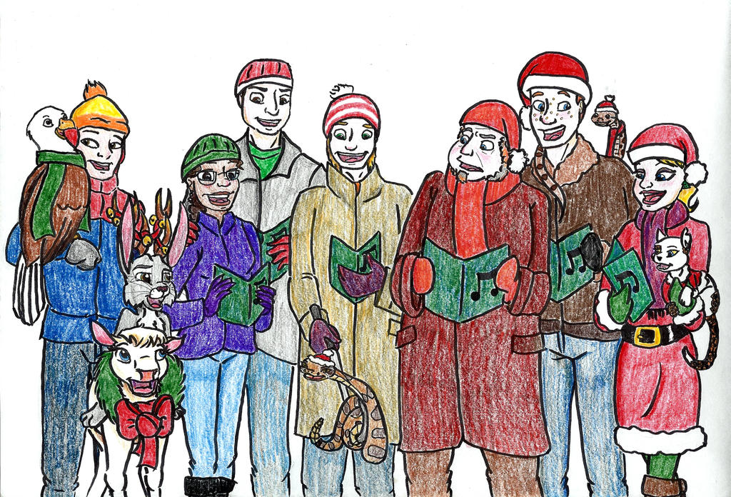 2014 Christmas Greeting by MountainLygon