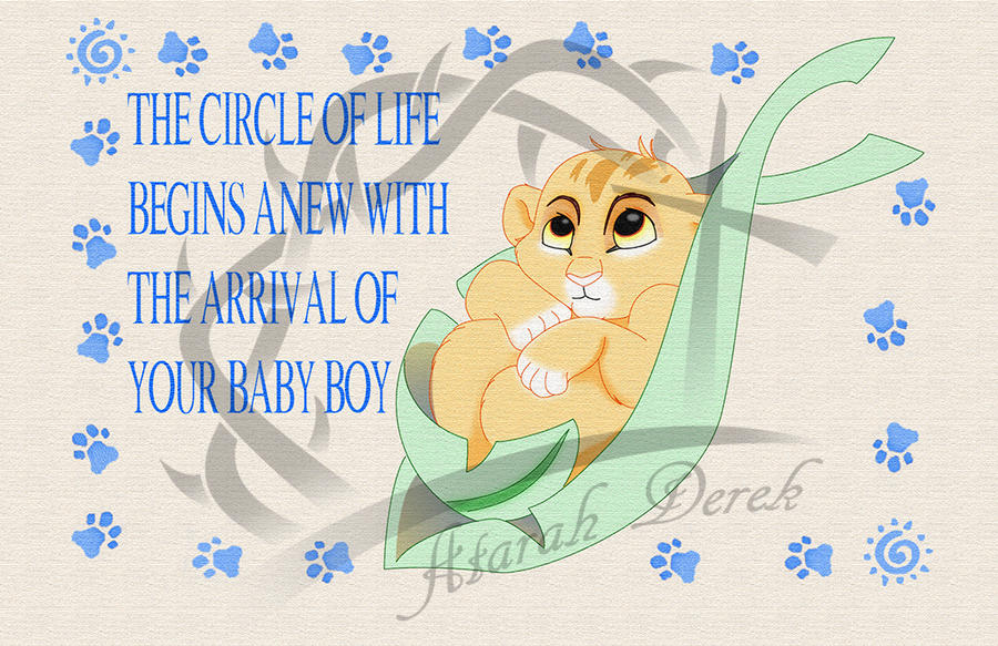 TLK Baby Card by MountainLygon