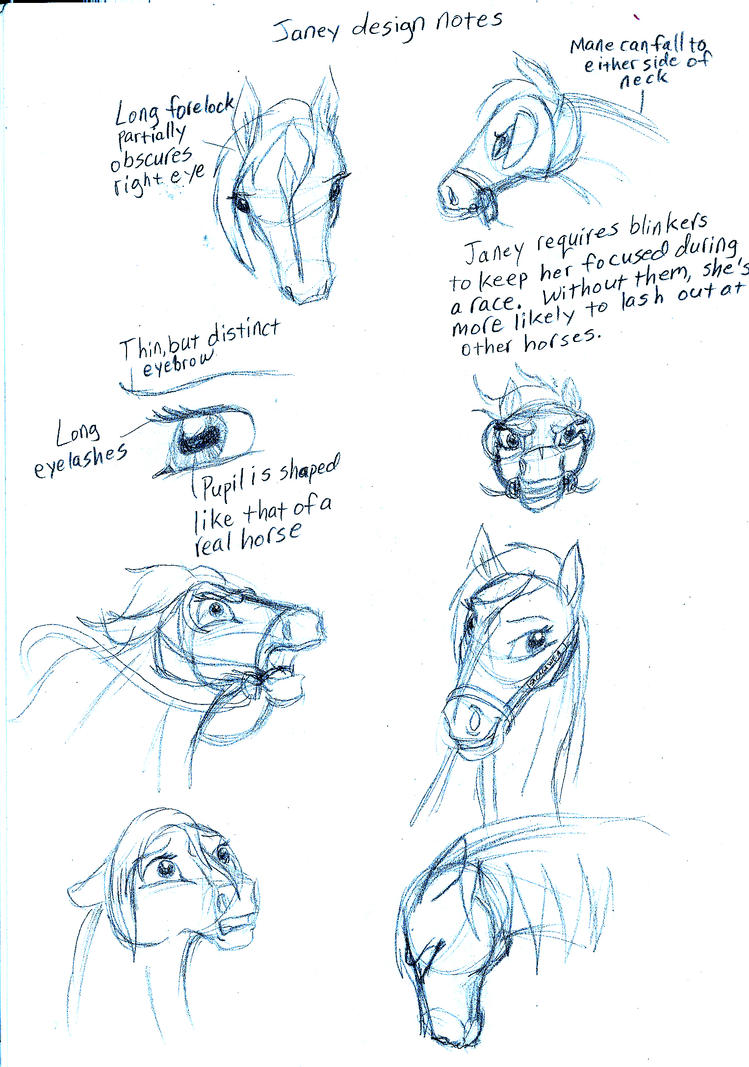 Janey Expressions by MountainLygon