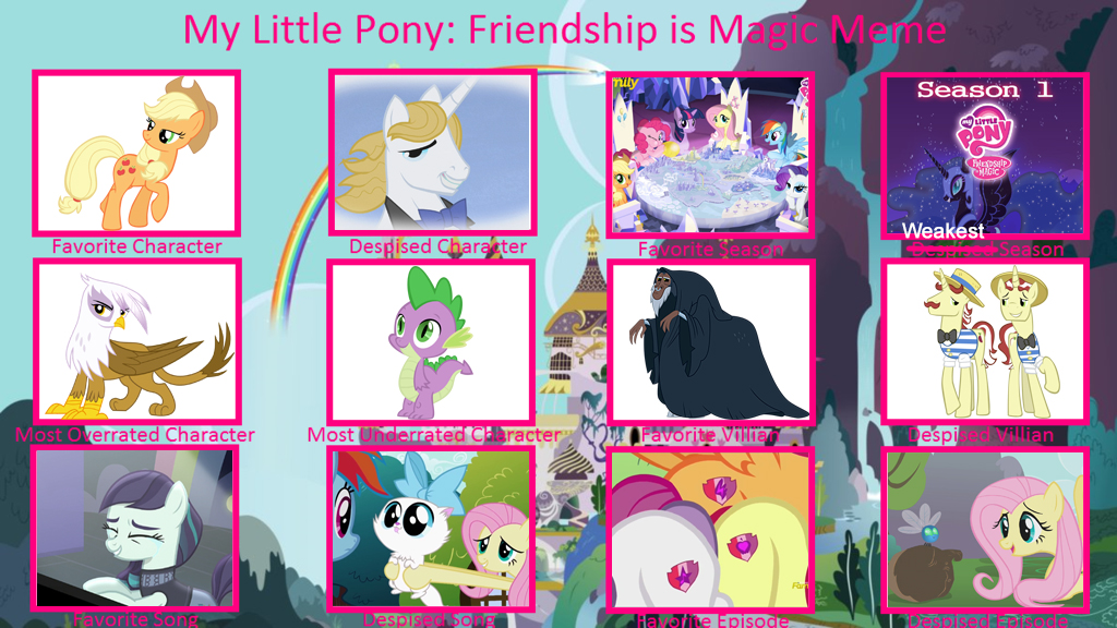 My Little Pony Controversy Meme by Deecat98 by MountainLygon