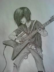 Guitarist Randon by LinksGirlfriendZelda