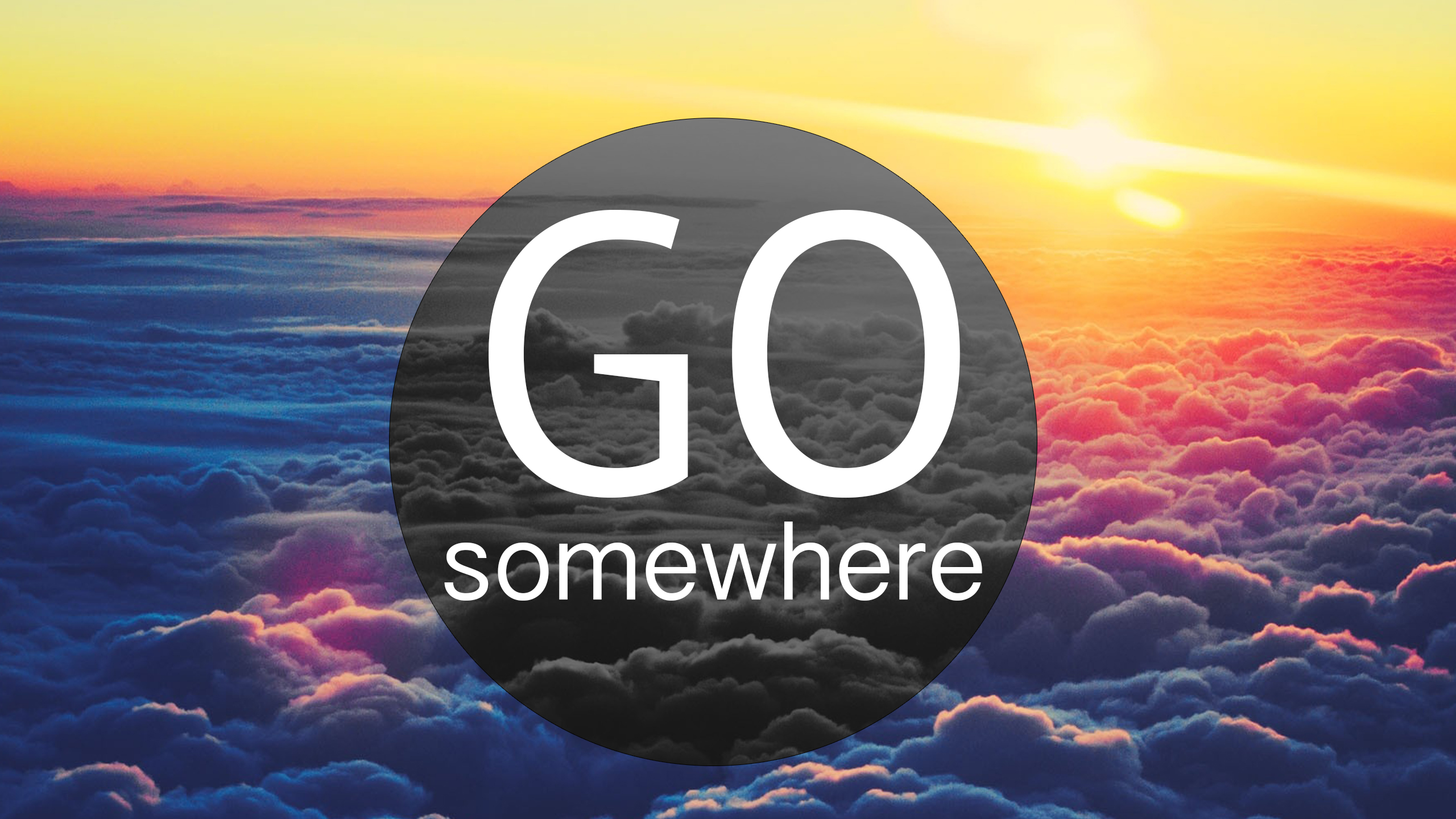 Go.Somewhere HD Wallpaper by vTahLick
