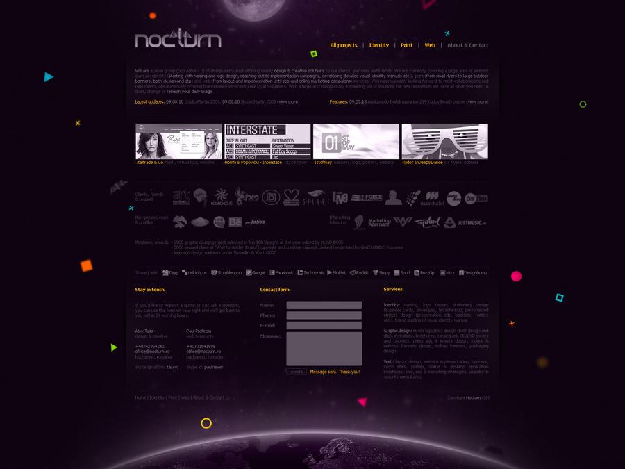 nocturn layout