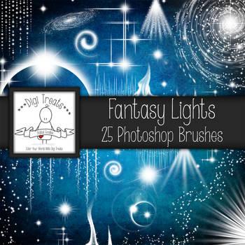Digi Treats Fantasy Light 30 Photoshop Brushes