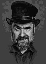 Jason Scott pixel portrait.
