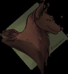 Wolf Lady by Waikku