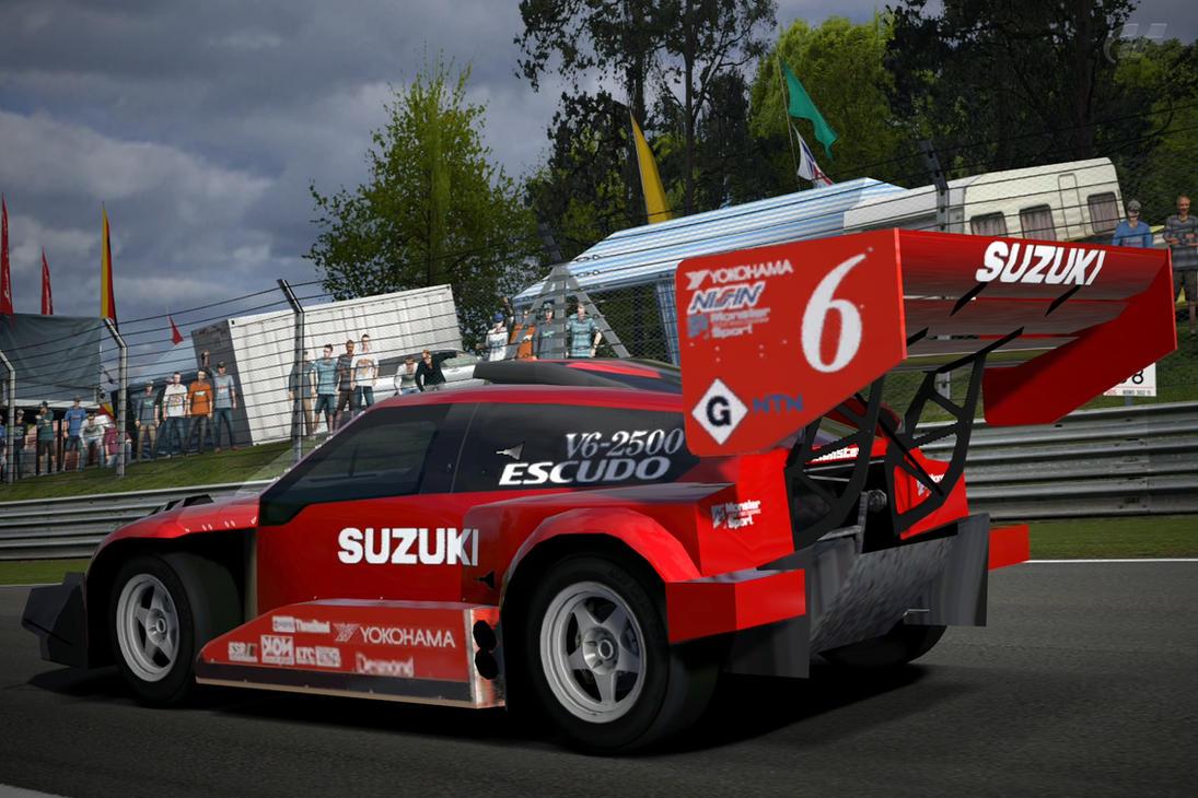 Suzuki Escudo Dirt Trial