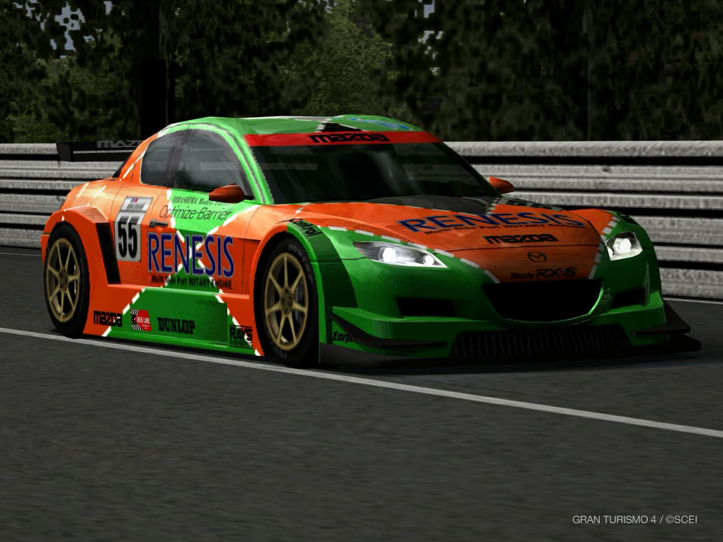 GT4 Mazda RX-8 Concept LM Race Car by lubeify200 on DeviantArt