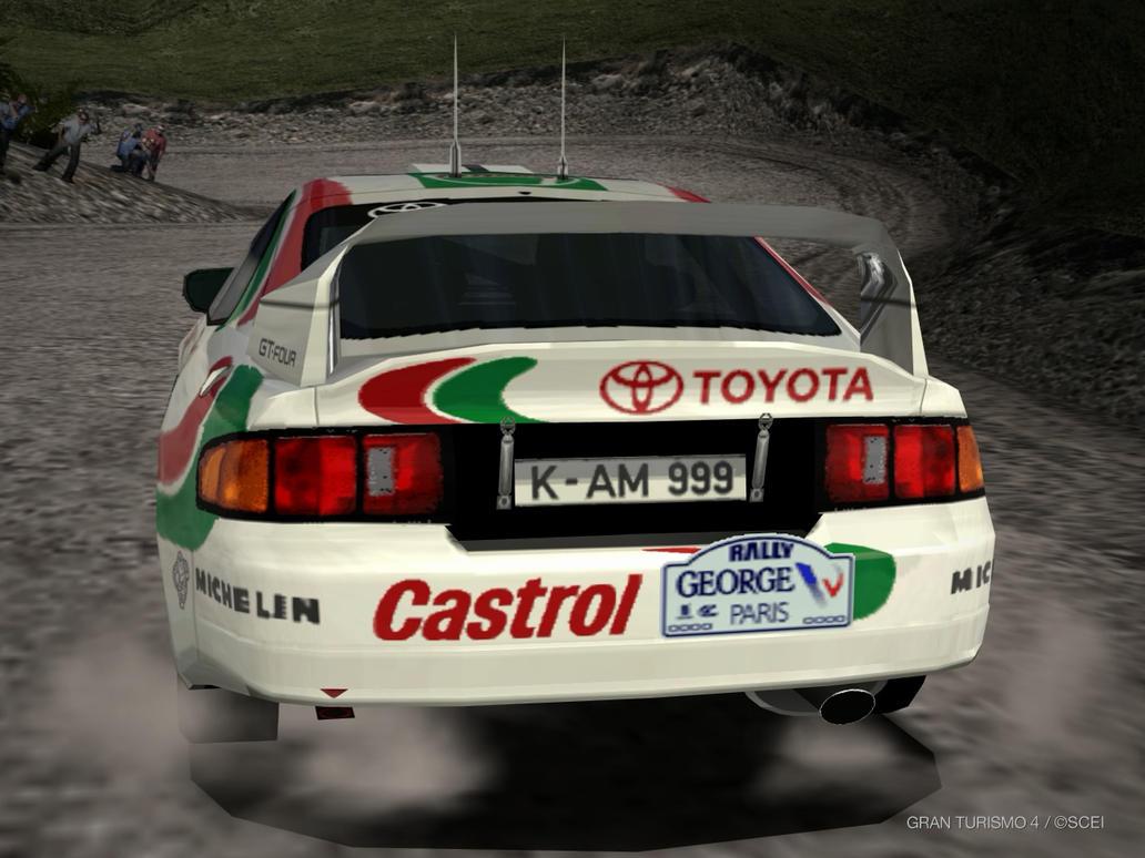 GT4 Toyota CELICA GT-FOUR Rally Car (ST205) \'95 by lubeify200 on ...