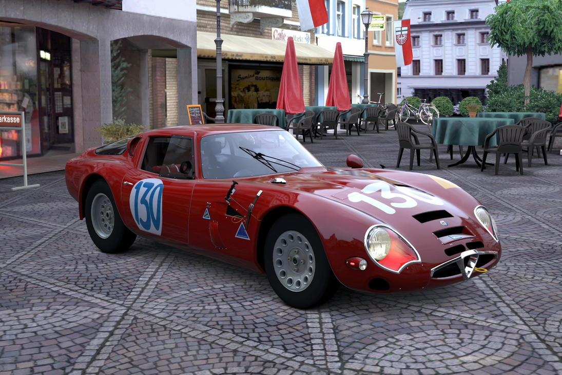 Alfa Romeo GIULIA TZ2 carrozzata da ZAGATO 65 by lubeify200 on