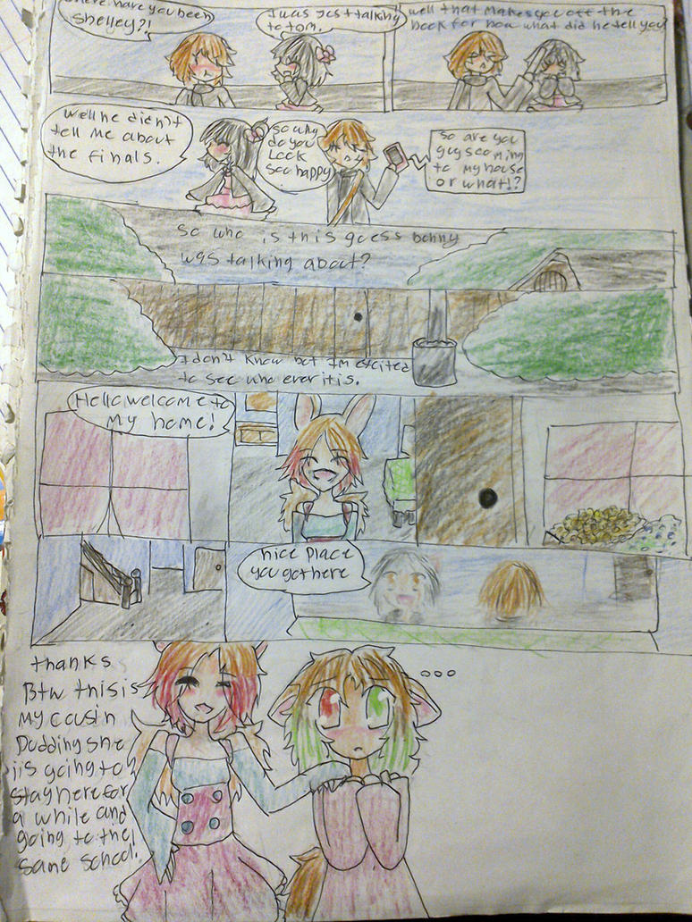 Achromic Love Story ch 4  Pg1 by theevilbunny1994