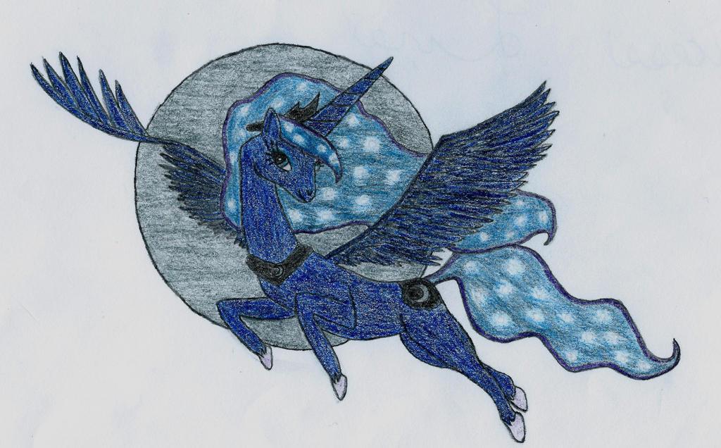 Princess Luna by Demyxismynickname