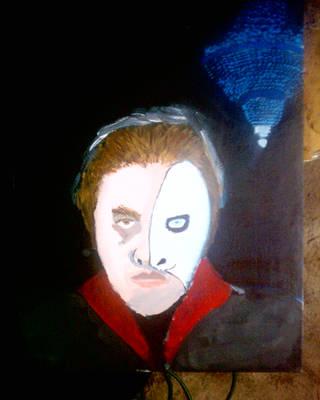 Phantom of the Opera painting by Guyvantic
