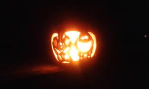 Jack-0-lantern of 2 Rip and Tear Badasses