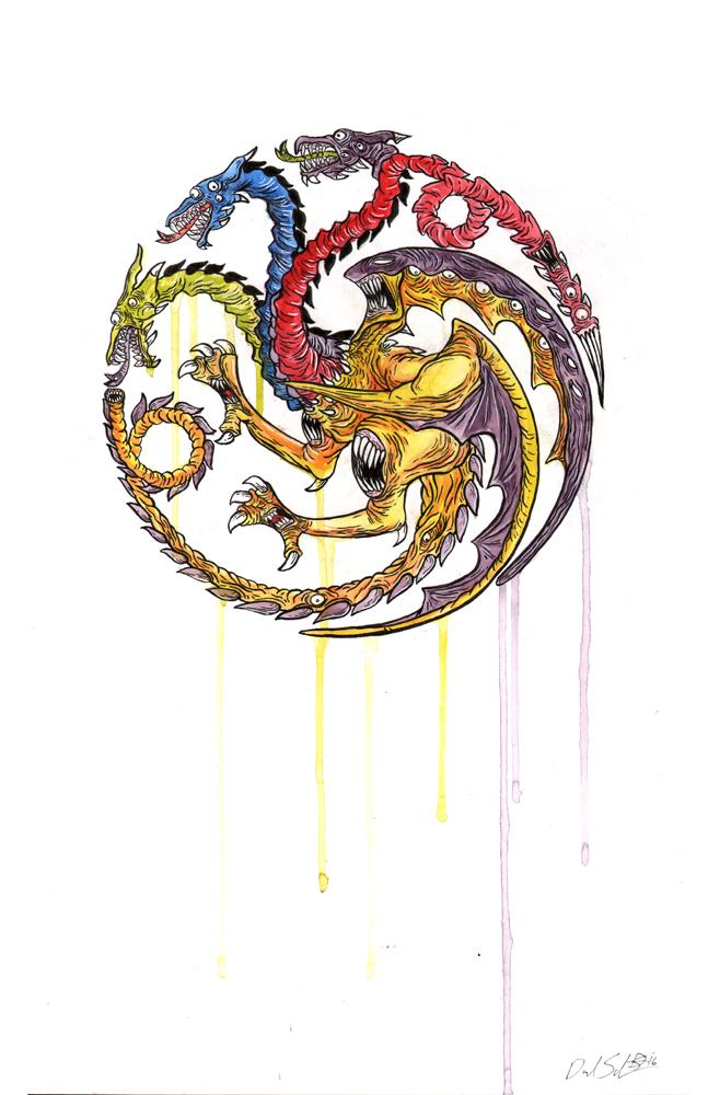 Targaryen by uncouthbarbarian