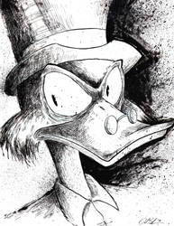 Scrooge McDuck by uncouthbarbarian