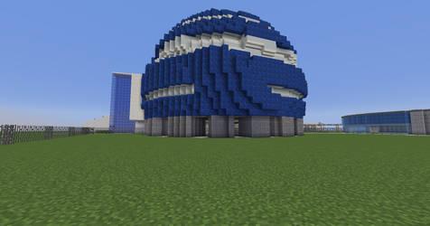 MOSI IMAX Dome Exterior in Minecraft