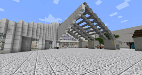 MOSI Entrance in Minecraft