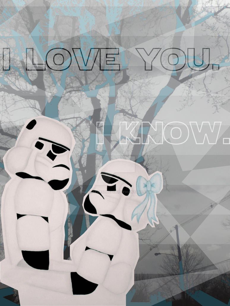 Star Wars Stormtroopers In Love by alishathesheepcat