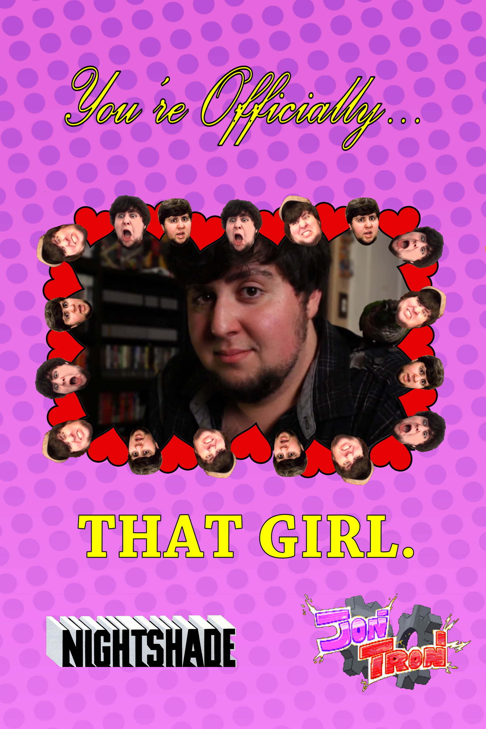 Game Grumps Valentines Cards That Girl by TrustySidekick on – Girl Valentine Cards