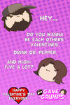 Game Grumps Valentine's Cards - High Five A Lot