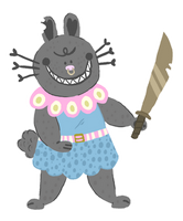 Bunny With Sword