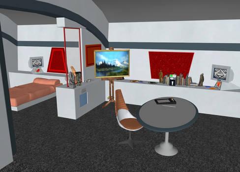 Star Trek STNV - Janice Rand's quarters (20200119)
