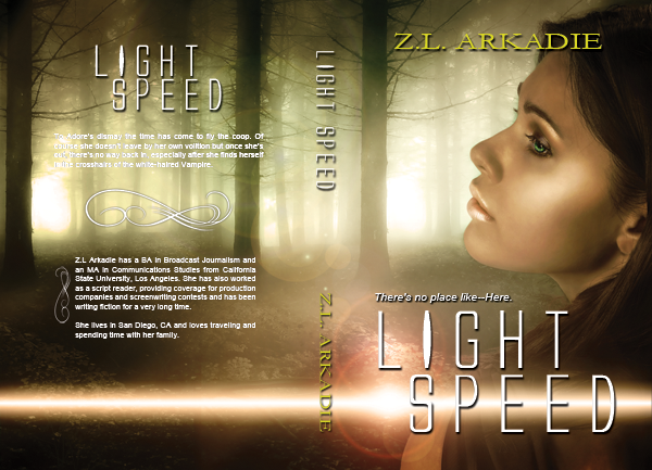 Cover: Light Speed by Z.L. Arkadie