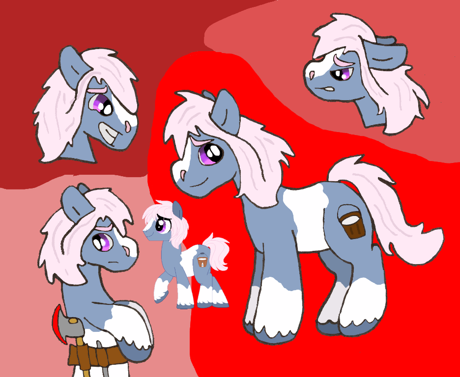 Mane 6 Nextgen Character Sheet: Froth by Pone-Dancer