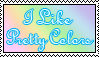 Pretty Colors Stamp by SilentRosySunrise