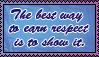 Earning Respect by SilentRisingSun