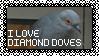 Diamond Dove Stamp by SilentRisingSun