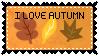 Autumn Stamp by SilentRisingSun