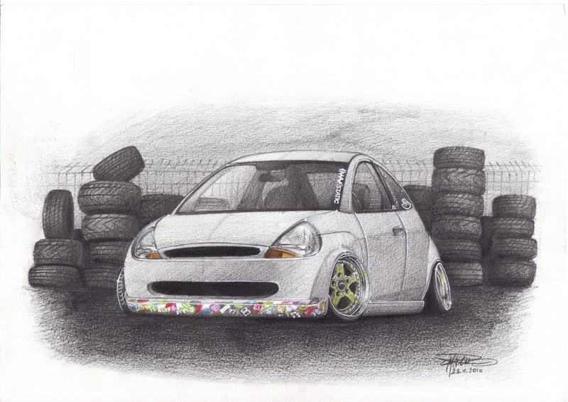 Ford Ka By Mncristy