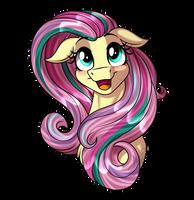 Fluttershy - Rainbow Power Hair by Jack-Pie