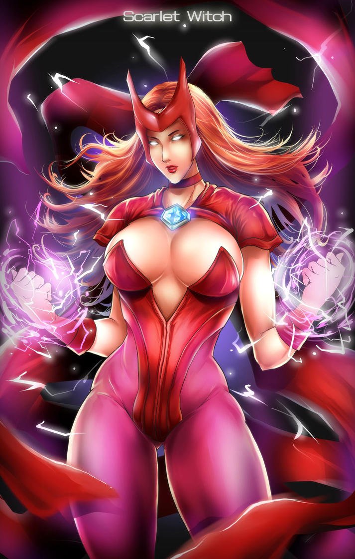Scarlet witch by bolo0824