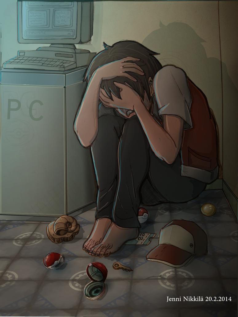 Twitch plays Pokemon: I WANNA GO HOME by SessKaka