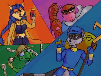 The cooper gang  by Belkasky